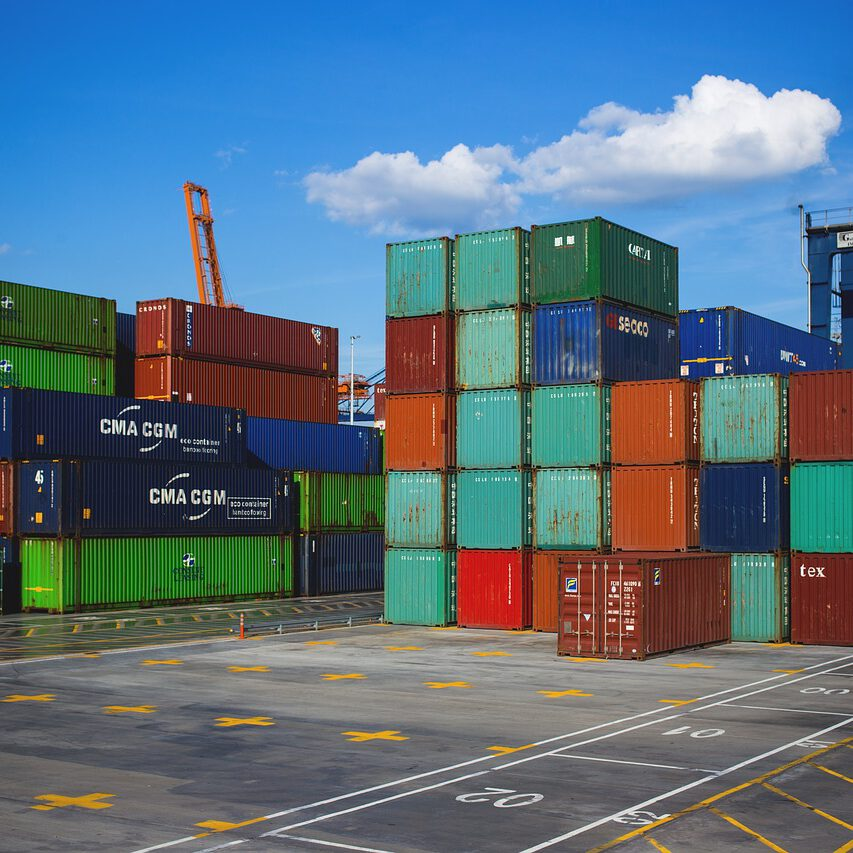 business, cargo containers, crate